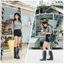 (穿搭) 下雨天的浪漫 LANDFER雨鞋穿搭 純手工台灣製雨鞋