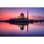 ♥ 粉紅水上清真寺Masjid Putra ♥