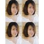 台北市髮型設計師 剪髮 染髮 燙髮 髮型 TONY老師   無瀏海LOB髮型 +往內彎的髮尾+空氣感的線條