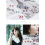 【飾品|耳環】Mrs.Yue夾式耳環。唯美氣質的9款施華洛世奇水鑽系列!(獎)