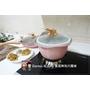 《美美的鍋具》瑞士MONCROSS 限量粉貝殼不沾鍋(三鍋三蓋)。煎、煮、炒、炸、蒸、烤廚房中的夢幻逸品︱影片