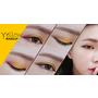 ┃彩妝┃秋冬玩撞色眼妝❚暖黃色❚示範。Yellow makeup
