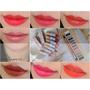 [彩妝]法國天然有機彩妝 Couleur Caramel焦糖色-柔霧美唇7色唇膏+12色眼影盤試色分享