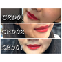 |彩妝|Missha紅磨坊胭脂唇釉-超平價三個紅色實擦分享