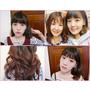 (髮型) 內彎/QQ捲捲頭隨意所欲變換♥加碼媽咪的紫色系漸層髮色