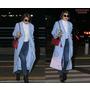 看韓國明星機場秀,觀察最新秋冬時尚潮流