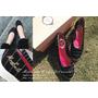 【愛分享】MIT 台灣手工製造好品質-姐的新愛|MonaSmile蒙娜微笑_鑽飾條紋厚底娃娃鞋
