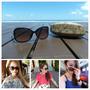 【流行】海島渡假怎麼能少時尚墨鏡 * COACH 玳瑁色太陽眼鏡-HC 8082D