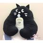[日本雜貨] 人氣品牌 にゃー ㄋㄧㄤ Ne-net 小黑貓造型 頸枕 U型枕