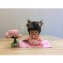 [日本雜貨] 櫻花和服貝比奇奇 夢奇奇 bebichhichi sekiguchi