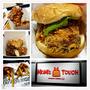【台中 北區】美味韓式速食漢堡進攻一中商圈,雞胸漢堡厚實多汁好美味。MoM's TOUCH 台中三民店