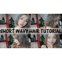 短髮造型泡麵頭 | SHORT WAVY HAIR TUTORIAL
