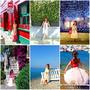 《旅遊穿搭》雪紡長裙洋裝渡假旅行去★遊歐洲法義希