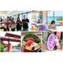 【沖繩自駕】御菓子御殿(恩納店):玩紅芋塔DIY、無敵海景美ら海&Beach Terrace cafe