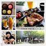 【南投 草屯】一日輕旅遊,美味乳酪點心、挑戰竹藝DIY和美麗七彩魚一起共享美味餐點。石川乳酪&竹藝工坊&人本自然七彩神仙魚主題餐廳
