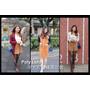 ▌穿搭 ▌Poly Lulu 中大尺碼韓風女裝♥ 今年秋冬流行元素--麂皮 x 背心裙Poly Lulu都找得到!