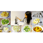 《分享廚房刀具》過年換新廚具【固鋼】一體成型不鏽鋼刀具組(5刀1剪超值7件裝) 切片刀。波浪鋸齒刀。料理刀。萬用刀。削皮水果刀| (影片)