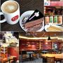 蘭田穀王烘焙坊(南方澳店)宜蘭蘇澳旅遊~樓上悠閒的咖啡空間可欣賞漁港風光,樓下可以選購精緻的伴手禮
