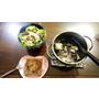 【低卡食譜】20分鐘搞定的鮮魚套餐(鮪魚蛋沙拉+烤巧克力吐司+海帶蛤蜊鮮魚湯)