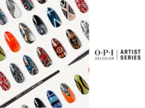 OPI藝術家膠糖光繚系列12款新色,1月登場