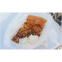 『台中。豐原區』南陽國小旁,寶珠炒飯對面,迷你攤位賣傳統飯丸,葷素均有