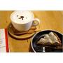 [桃園食記]手工蛋糕迷不能錯過之鄉村風雜貨咖啡館 - Wooly Cafe (咖啡拉花/黑芝麻焙茶塔)
