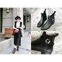 【穿搭】不像雨靴的雨靴讓雨天也可以美翻天《DOOK》經典時尚短筒雨靴 推SLIPA平價女鞋