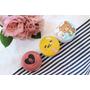 【蒐集狂】買到停不下來的韓系卡通腮紅~♥Holika Holika X 蛋黃哥、ETUDE HOUSE 粉紅骷髏、APIEU X 拉拉熊 (真心話開箱試色分享)
