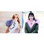 鬼鬼、IU、太妍都有一件,彩色毛領外套讓你萌感大發!