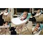 育兒。好物│ 【兒童餐椅】ViViBABY 二段式兒童餐椅 居家專用 安全兒童餐椅 二段式高度調整 6週~3歲兒童餐椅 孩子開心與我們圍爐 ❤跟著Livia享受人生❤