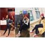 最會穿球鞋的韓國流行ICON『Dara』也穿上紅鞋迎新年