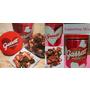 爆米花品牌「Garrett Popcorn 」日本推出情人節限定粉紅愛心罐!
