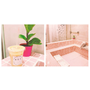 拍照打卡新地點!在粉紅澡堂中喝飲料就是時髦!