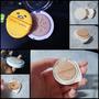 [純屬好玩] 彩妝空盒+氣墊海綿+蜜粉篩=專屬於你的手作迷你氣墊粉餅!