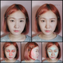 [HEE's彩妝]不用動刀也不用整骨的☑小臉☑挺鼻☑深眼窩➪雙層暗色修容✕自然光澤打亮