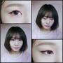 [HEE's彩妝] ❄聖誕節來一點前衛、一點鮮豔、一點小清新❆清新大眼紅色眼線妝