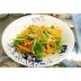《新竹園區附近平價泰式小吃》「泰香泰國小吃」新科店。吃了會上癮的鴉片蕎麥涼麵。涼拌青木瓜。紅咖哩椰香麵。︱新科國中對面(影片)