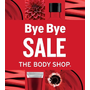 The Body Shop台北統領店Bye Bye Sale!!