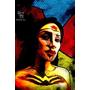Day 1 {女超人~普普風}  紐約挑戰變臉31天Inspired by Wonder Woman Pop art