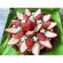 """甜美分享,""""木桌·甜""""_令人無法抗拒的草莓蛋糕"""