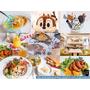 【捷運/新埔站】Oyami Caf'e ► 與姊妹一同身在夢幻城堡裡,享受優質下午茶、鬆餅、義大利麵 ❤ 板橋美食推薦