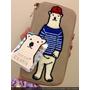 班傑明潮流北極熊 Polar Bear BENJAMIN 2017SS新品多功能收納袋