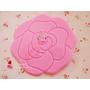 [可愛小物收藏癖] 蝴蝶結粉紅色玫瑰花蕾絲邊✿大創均一價39元可愛生活小物♥