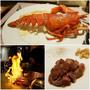 [台北餐廳 復興南京站]明水然 無菜單鐵板燒(慶城店) 現撈活龍蝦套餐+超軟嫩菲力牛