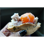 《台中甜點分享》大判燒=紅豆餅。推薦好好吃的鹹蛋黃芋頭口味|台中網路爆排隊美食金典酒店旁(影片)
