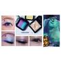 彩妝造型亂亂玩~另類的水光妝容:來個可愛的毛怪配色眼妝吧!