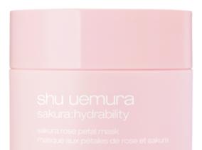 sakura rose petal mask 植村秀 櫻花玫瑰保濕面膜