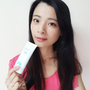 【防曬】白色安耐曬心得,粉藍防曬水凝乳SPF50+,遊玩適合的防曬乳~敏感體質不適合