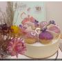 凡內莎烘焙工作室 美食節目宅配美味甜點蛋糕 薰衣草甜禮 Vanessa's Bakery 薰衣草焦糖洋梨生乳酪蛋糕