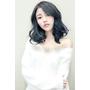 2017流行染髮髮型~TWICE周子瑜的霧綠藍黑色~推薦台北東區髮型西門町尚洋髮型BENSON